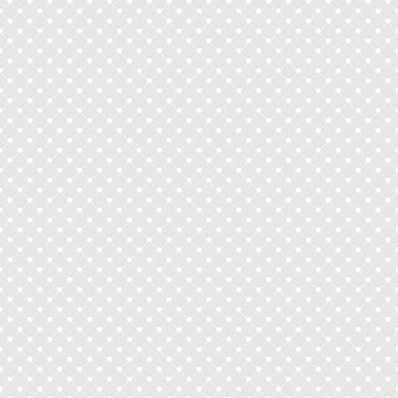White Polka Dot Seamless Pattern Vector Background