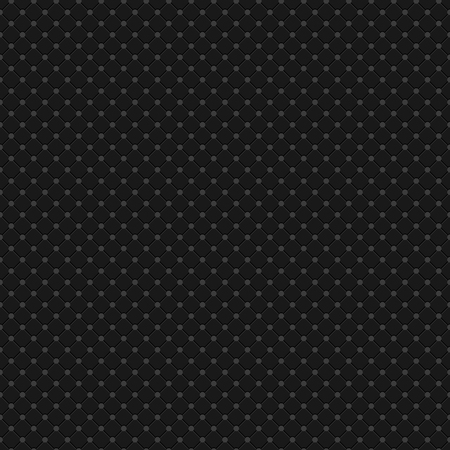 Black Polka Dot Seamless Pattern Vector Background Vectores