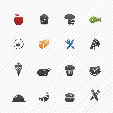 vector symbol: Food vector symbol icon set