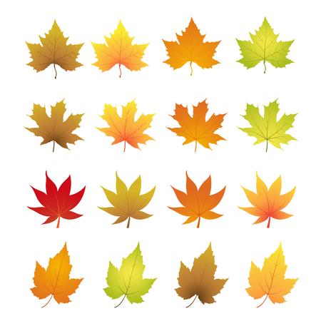 herfst bladeren Stock Illustratie