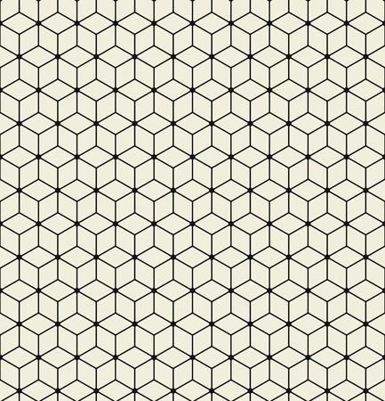 Vector seamless pattern. Modern stylish texture. Illustration