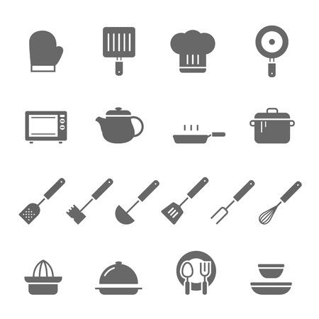 dozen: Icon set - kitchenware