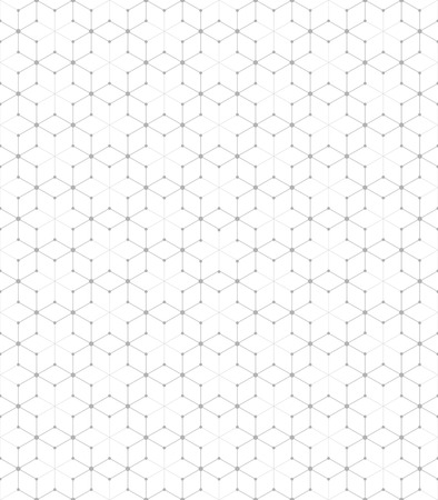 Vector seamless pattern. Modern stylish texture. Repeating geometric pattern tiles with staggered hexagon.
