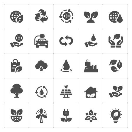 Environment filled icon style vector illustration on white background