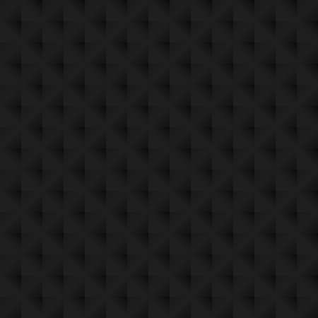 Black texture seamless pattern background. Perfect light and shadow dimension vector design. Çizim