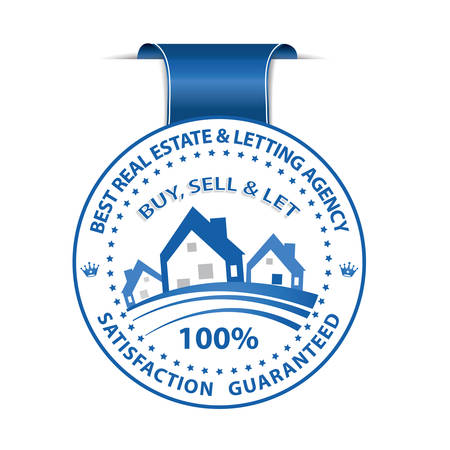 home ownership: Best Real Estate and Letting Agency. We Buy, Sell and Let. Satisfaction guaranteed - blue ribbon