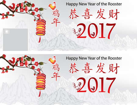 backgrounds for chinese new year of the rooster for ad promotion social media