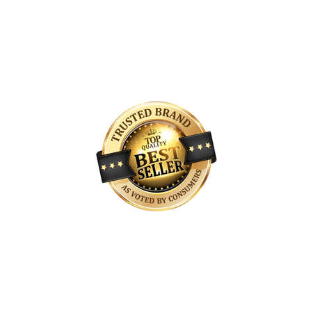 Best seller, Trusted Brand, Top quality - luxurious elegant icon  ribbon for retailers