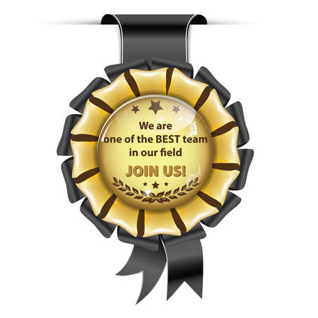 employers: We are one of the best team in our field. Join Us! - award ribbon for recruitment companies  employers