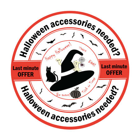 needed: Halloween accessories needed? Last minute offer - stamp for print.