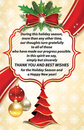 Thank you business greeting card for christmas and new year stock thank you business greeting card for christmas and new year stock photo picture and royalty free image image 65174542 m4hsunfo