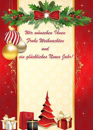 German we wish you merry christmas and happy new year greeting german we wish you merry christmas and happy new year greeting card wir wunschen ihnen m4hsunfo