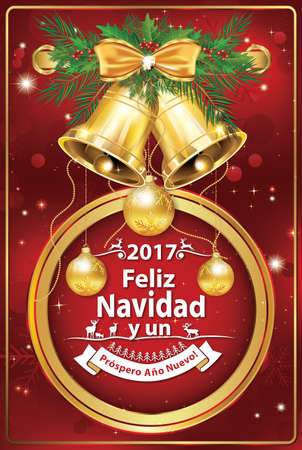 merry christmas and happy new year 2017 spanish wishes feliz navidad y un prospero