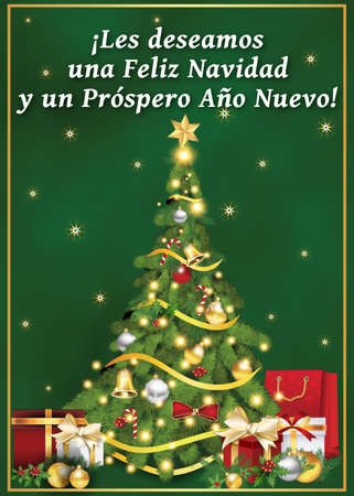 Spanish business greeting card for winter holiday text translation spanish business greeting card for winter holiday text translation we wish you merry christmas colourmoves