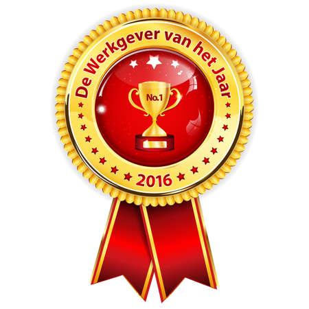 distinction: Best employer of the year 2016 (Dutch award  distinction for business purposes: De Werkgever van het jaar) - Recognition gifts & appreciation gifts