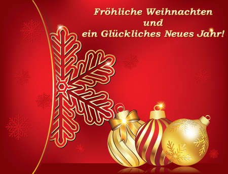 German greeting card merry christmas and happy new year frohe 67747741 german greeting card for winter holiday text translation merry christmas and happy new year print colors used size of a custom postcard m4hsunfo