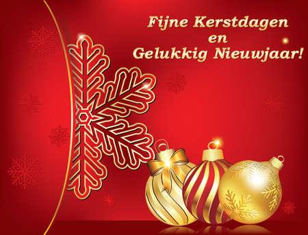 Frohe Weihnachten Und Ein Gutes Neues Jahr Holländisch.Frohe Weihnachten Und Ein Gutes Neues Jahr 2018 Geschrieben Auf