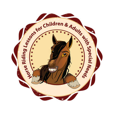 Horse riding lessons for Children and Adults with special needs (Therapeutic horseback riding) - Equestrian sport advertising for riding centers