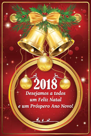 Happy new year 2018 greeting card with spanish text stock photo happy new year 2018 greeting card with spanish text stock photo 92551287 m4hsunfo