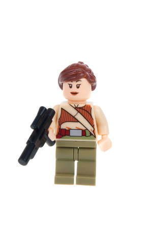 star path: Adelaide, Australia - January 15, 2016: A studio shot of a Resistance Fighter Force Awakens minifigure from the Star Wars Force Awakens Movie. Lego is extremely popular worldwide with children and collectors.
