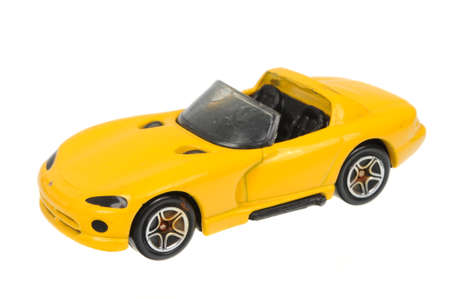rt: Adelaide, Australia - March 27, 2016:An isolated shot of a 1994 Dodge Viper RT 10 Matchbox Diecast Toy Car. Replica diecast toy cars made by Matchbox are highly sought after collectables.