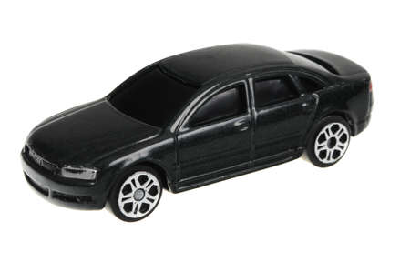 sought: Adelaide, Australia - April 13, 2016:An isolated shot of an Audi A8 Maisto Diecast Toy Car. Replica diecast toy cars made by Matchbox are highly sought after collectables.