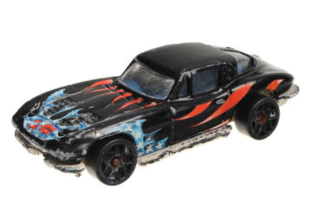 corvette: Adelaide, Australia - April 13, 2016:An isolated shot of a 1979 Corvette Stingray Hot Wheels Diecast Toy Car. Hot Wheels cars made by Mattel are highly sought after collectables.