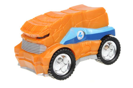 replica: Adelaide, Australia - April 24, 2016:An isolated shot of a 2005 The Thing Fantastic 4 Majorette Hot Wheels Diecast Toy Car. Replica cars made by Majorette are highly sought after collectables. Editorial