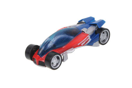 spiderman: Adelaide, Australia - March 15, 2016:An isolated shot of a 2006 Spiderman Majorette Diecast Toy Car. Replica cars made by Majorette are highly sought after collectables.
