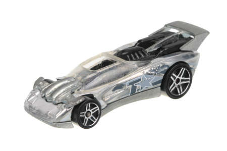 fury: Adelaide, Australia - May 21, 2016:An isolated shot of a 2007 Flathead Fury Hot Wheels Diecast Toy Car. Hot Wheels cars made by Mattel are highly sought after collectables.