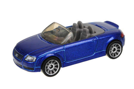 sought: Adelaide, Australia - May 21, 2016:An isolated shot of a 1999 Audi TT Roadster Matchbox Diecast Toy Car. Replica diecast toy cars made by Matchbox are highly sought after collectables.