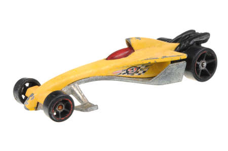 sought: Adelaide, Australia - June 18, 2016:An isolated shot of a 2000 Greased Lightnin Hot Wheels Diecast Toy Car. Hot Wheels cars made by Mattel are highly sought after collectables. Editorial