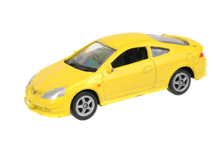 Adelaide, Australia - July 08, 2016:An isolated shot of a Honda Integra Type-R Welly Diecast Toy Car. Replica diecast toy cars are highly sought after collectables.
