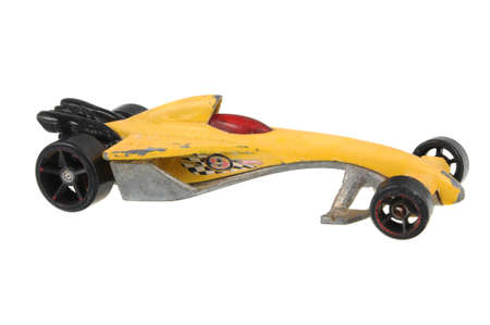 greased: Adelaide, Australia - June 18, 2016:An isolated shot of a 2000 Greased Lightnin Hot Wheels Diecast Toy Car. Hot Wheels cars made by Mattel are highly sought after collectables. Editorial