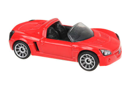 speedster: Adelaide, Australia - July 17, 2016:An isolated shot of a 2002 Opel Speedster Matchbox Diecast Toy Car. Replica diecast toy cars made by Matchbox are highly sought after collectables.