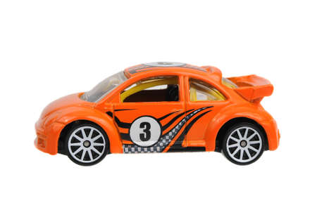 Adelaide, Australia - April 02, 2017:An isolated shot of a Volkswagen New Beetle Cup Hot Wheels Diecast Toy Car. Hot Wheels cars made by Mattel are highly sought after collectables.
