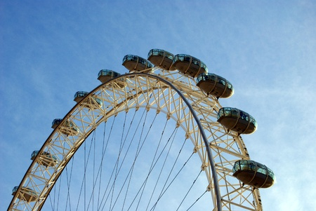 london eye Stock Photo