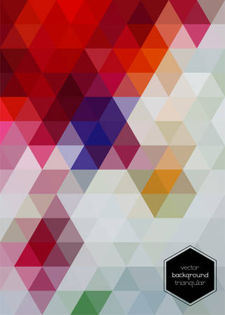 transparency: Abstract vector geometric polygonal background with transparency, 10 EPS