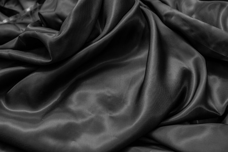 draped cloth: Draped silver cloth abstract background