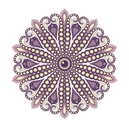 Abstract graphic pearl illustration Illustration