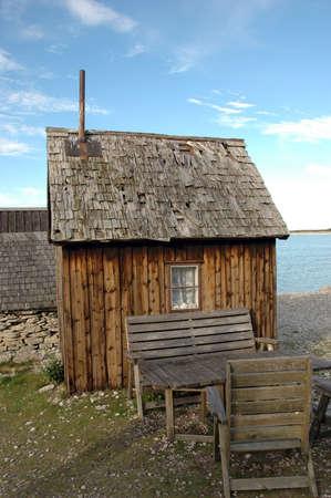 fishing hut: Fishing hut on Gotland, Sweden