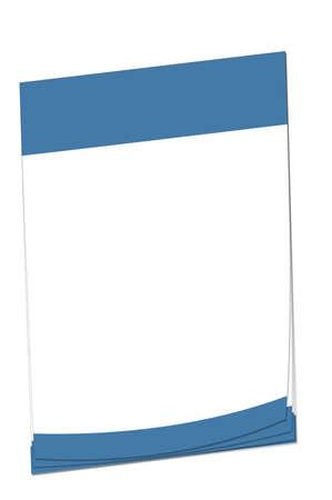bandera de el salvador: Papel de nota en blanco con espacio para a�adir su propio texto. Colores coincidan con la bandera del Salvador.