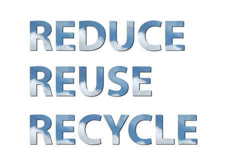 reduce reutiliza recicla: the palabras reduce , reuse , recycle are written composing of elements of air .