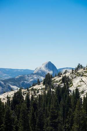distance: Half Dome In Distance