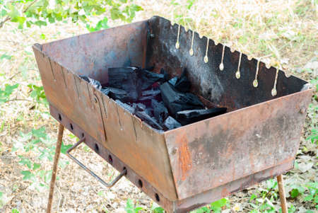 brazier: coals in the brazier