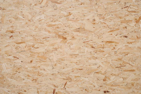 background oriented strand board photographed close up