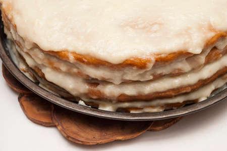 soaked: cakes soaked cake prepare custard napoleon home