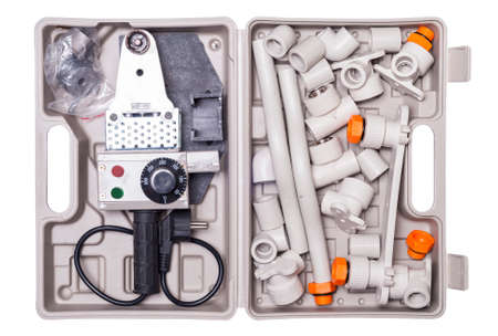 fittings: set for soldering polypropylene pipes and fittings