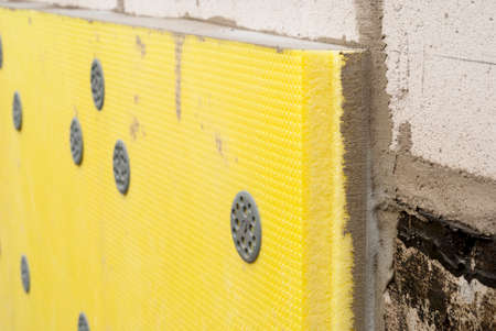 extruded: thermal insulation of the foundation slabs of extruded polystyrene
