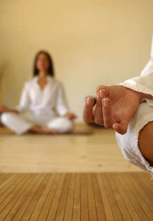 Hand and yoga